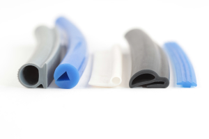 Custom extruded rubber parts