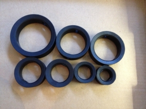 Custom Molded Butterfly Valve Seals